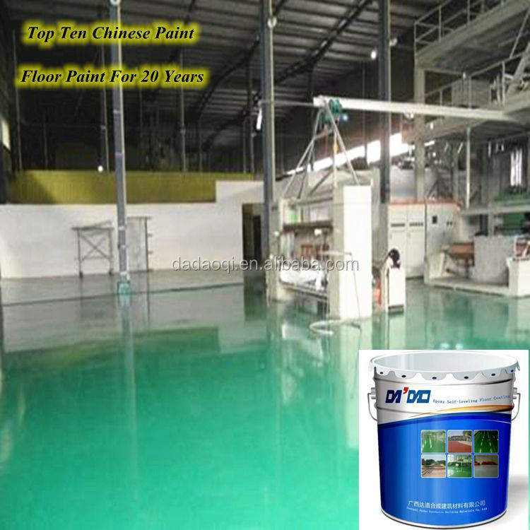 Super scratching resistance epoxy resin floor coating