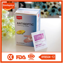 China Medical Factory Antiseptic Cleansing Wipes