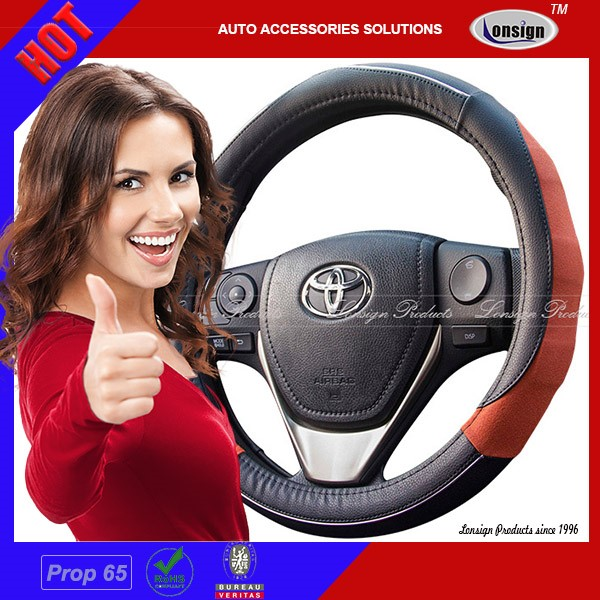2017 Attactive Fashion PU Car Steering Wheel Covers