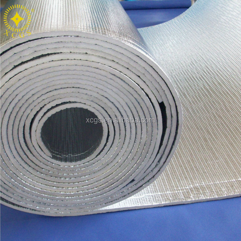 AL woven / Closed-cell EPE foam / AL thermal insulation