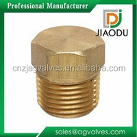 1 inch or 1/2 inch or 3/4 inch inch good quality forged brass screw pipe plug fitting