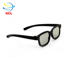 Factory supply In Stock Circular Polarized Black Classic 3D Glasses