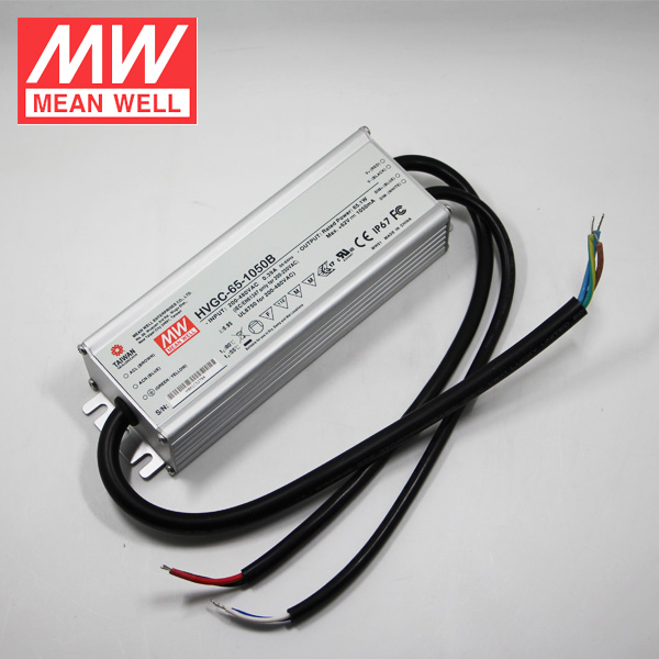 65W 500mA Game DC Power Supply Meanwell Constant Current LED Driver HVGC-65-500B