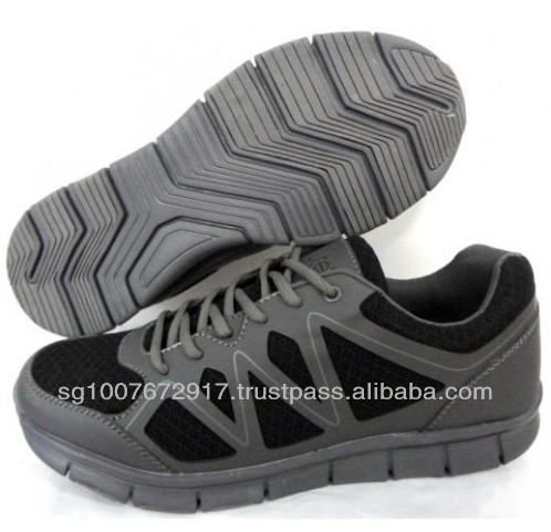 Black Color Mesh Running Sports Shoes