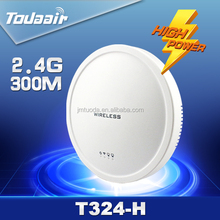 Support wifi cover hotspot for hotel 300Mbps indoor wifi router