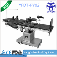 YFDT-PT02 Hot sale medical hospital multi function electric operating table with high quality