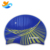 Custom Printed Classic Size Athletic Silicone Swimming Cap for Triathlon