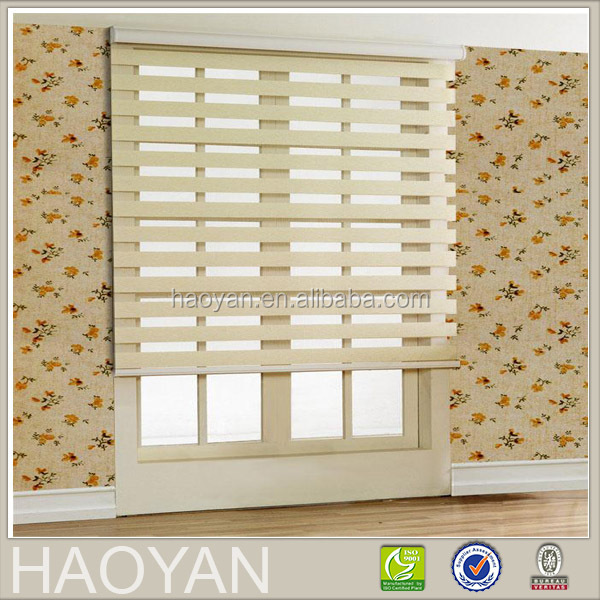 tension bead curtain with double layer