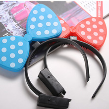 led bow tie men bow tie flashing Hair Bow Tie for party halloween christmas