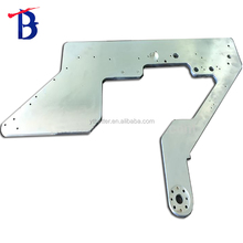 China custom stamping sheet metal used for mechanical parts made from brass with ISO handle