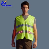 high visibility safety vest led clothing tactical vest