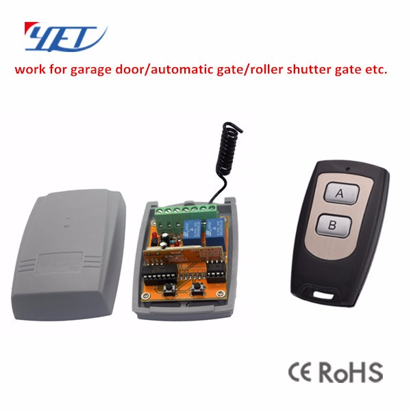YET 433mhz Wireless RF Garage Door /Auto Gate Transmitter and Receiver