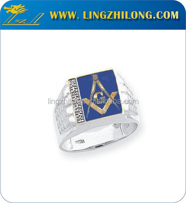 fashion jewelry wholesale, titanium steel men's masonic ring