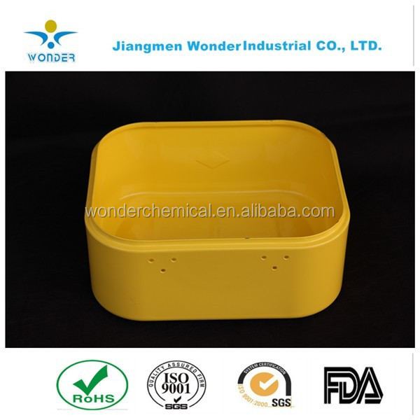 High Quality Competitive Price Yellow Epoxy Polyester Powder Coats