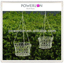 Eco-friendly handmade metal hanging plant stand