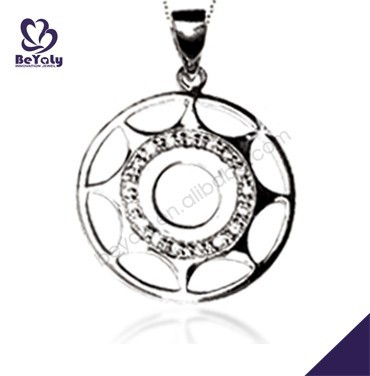 fashion jewelry necklace 2015 wholesale silver photo pendant inside