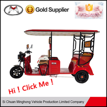 2017 1200W passenger tuktuk e-tricycle made in china