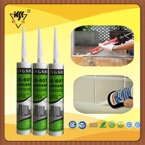 Concrete Joint Construction Usage Acid Silicone Sealant