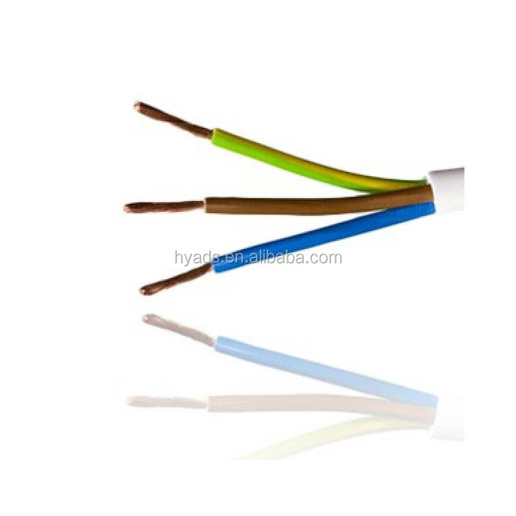 2 core 3 core 4 core copper wire and cable electrical