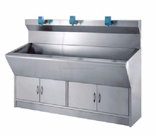 CY-HT3 Laboratory Equipment hospital Stainless steel 304 scrub sink