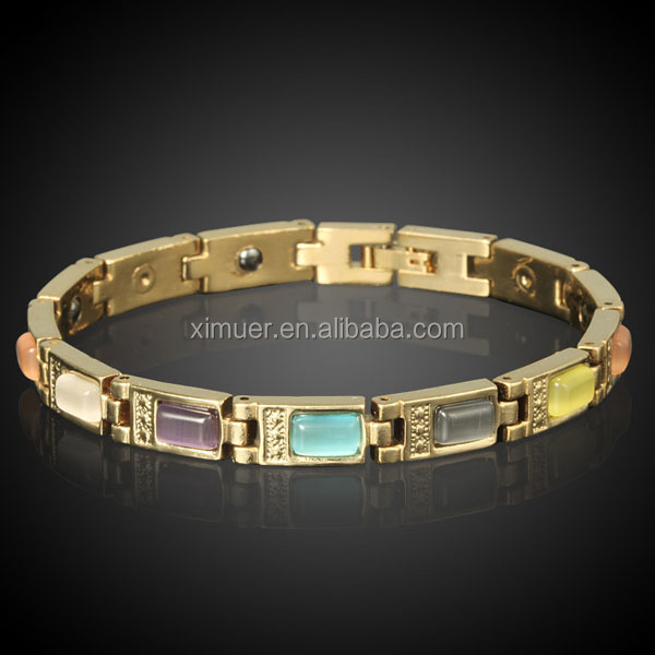Newest opal good health bio magnetic bracelet