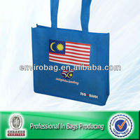 Non Woven RHB BANK Bag n/Cheap Backpack Bag Bule Color