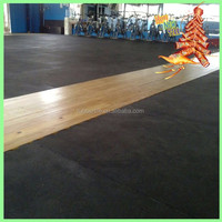 1000*1000*20mm fitness rubber flooring mat, high quality durable soundproof and shock absorb