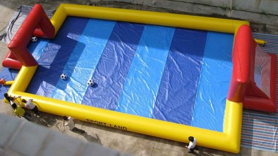 inflatable water football game/football pitch/court/field