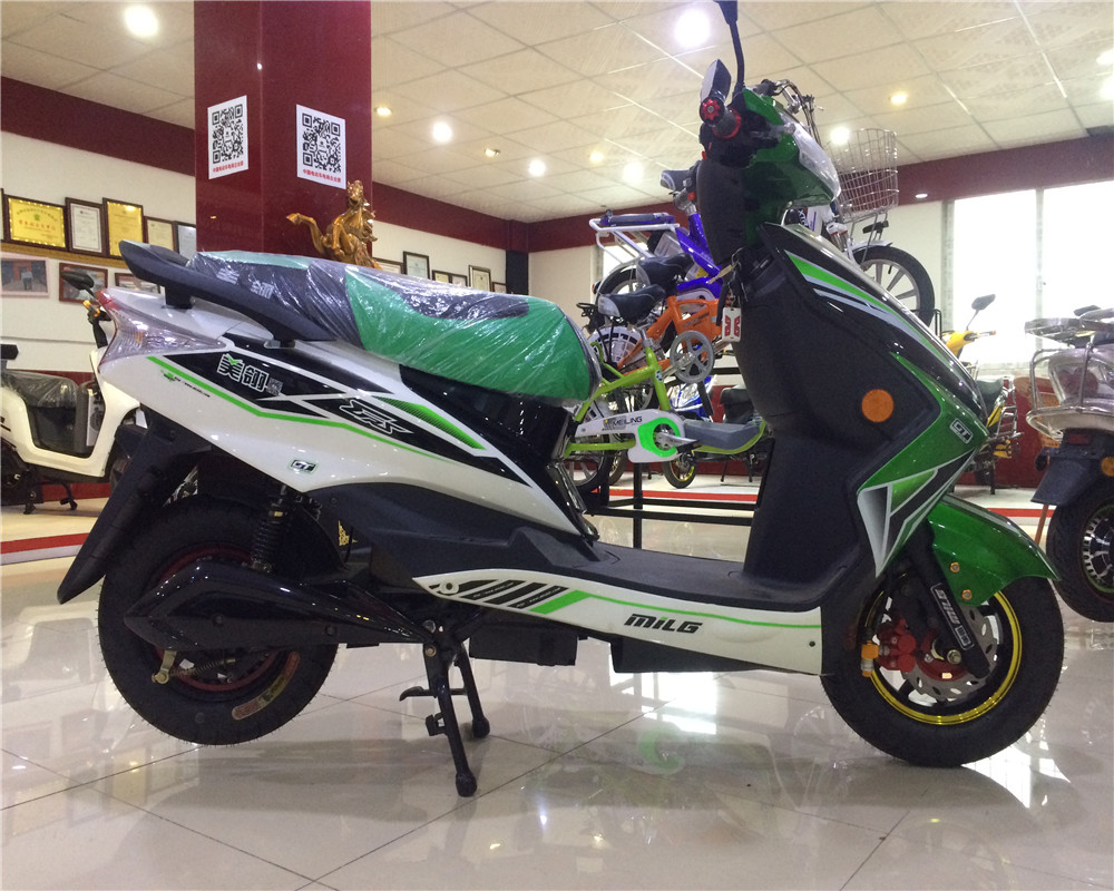 60v city sports powerful adults electric motocycle 800w brushless ( max 1500w )