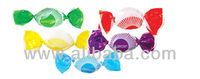 Mixture of filled candies fruit flavour