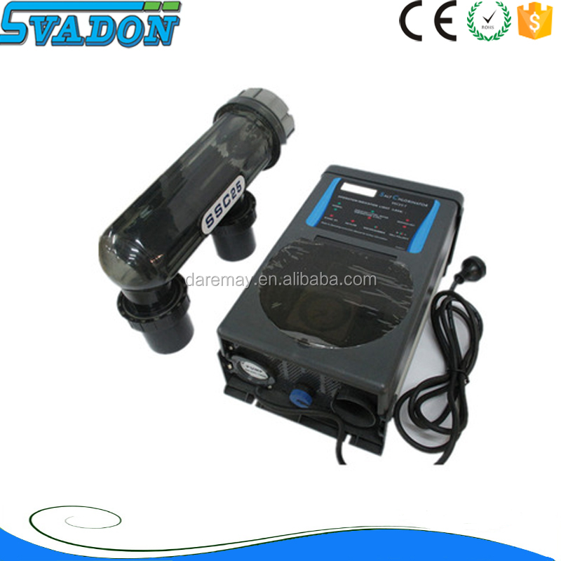 Swimming pool solar chlorinator water chlorination plant pool salt chlorinator