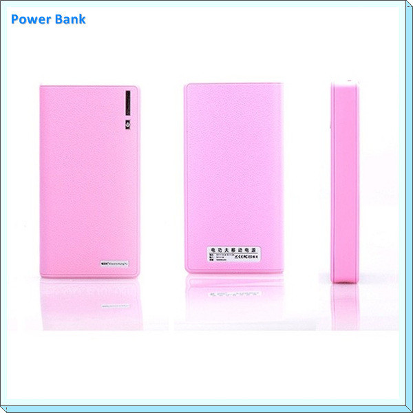 New style Universal portable charging Po with dual USB port 10400mah Wallet power bank
