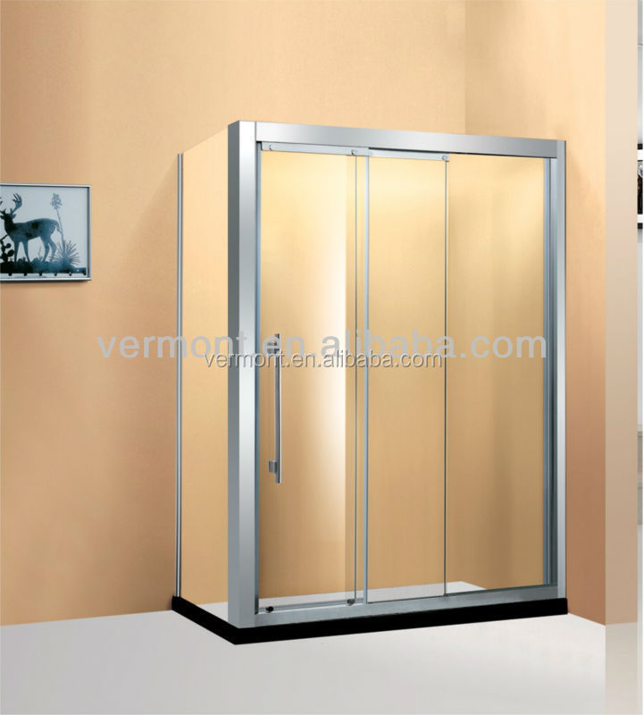 clear tempered glass shower door sector shower enclosure