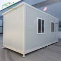 Light steel construction prefab sandwich panel container house for sale