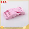 Simple style all color plastic side release buckle