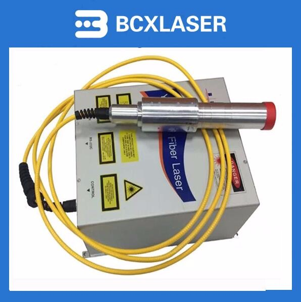 Fiber laser marker mopa laser marking machine 30w for metal