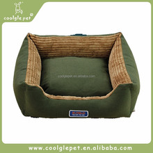 Classic Plain Army Green Accessories Supply Pet Kennel Cushion Bed Sofa Dog House
