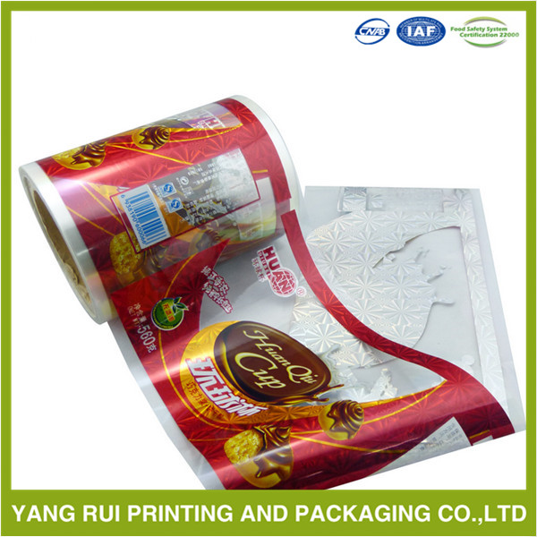 Durable Funny Gift Package plastic wrapping film rolls,flexible packaging roll film