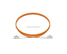 LC-LC simplex multi mode 3.0mm PVC/LSZH jacket fiber optic patch cord for CATV Network