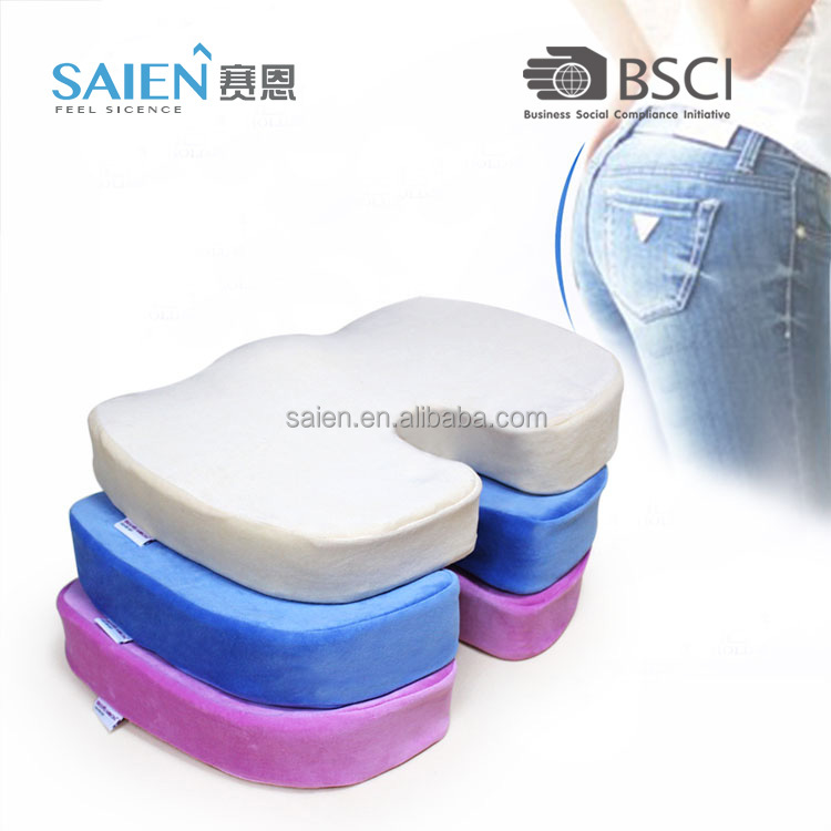 Coccyx orthopedic therapeutic adult car seat booster cushions