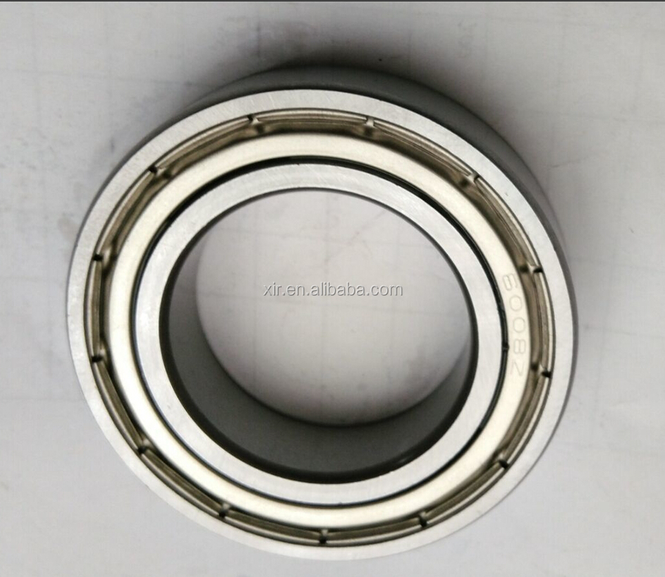 High quality OEM deep groove ball bearing 6008ZZ chrome steel bearing ABEC-1