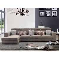 2015 the latest modern fabric sofa/sofa cum bed furniture