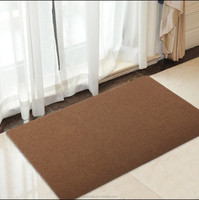 Polyester Fiber Entrance Indoor/Outdoor mat, Floor mat, with TPR Backing,