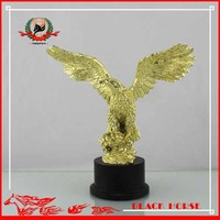 Pretty Special Trophy Customized Metal Eagle Sculpture