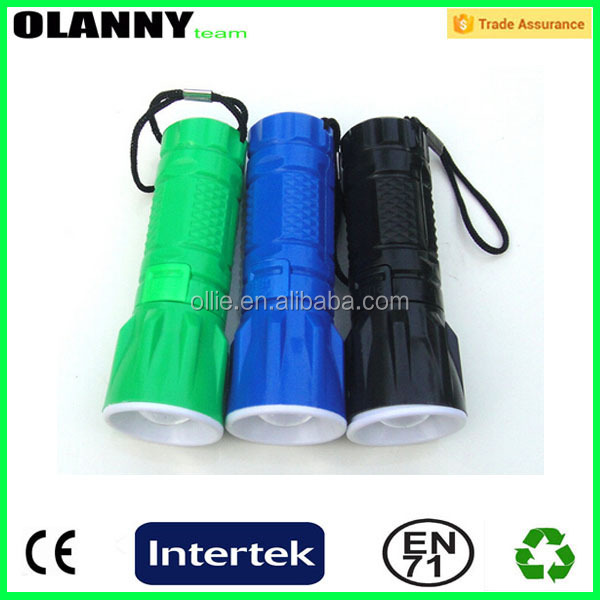 eco-friendly promotion led torch diving flashlight