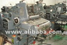 used single color printing machine
