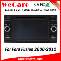 Wecaro WC-FU7016 Android 4.4.4 radio HD 2 din touch screen car gps player for ford fusion 2006 - 2011 Wifi&3G