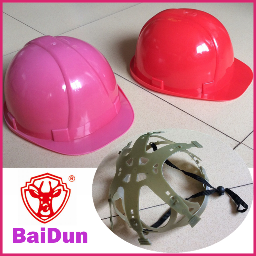 Low Price/cheap Industrial Pe Safety Helmet Light Weight