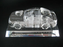 Promotional gift 3d crystal car model