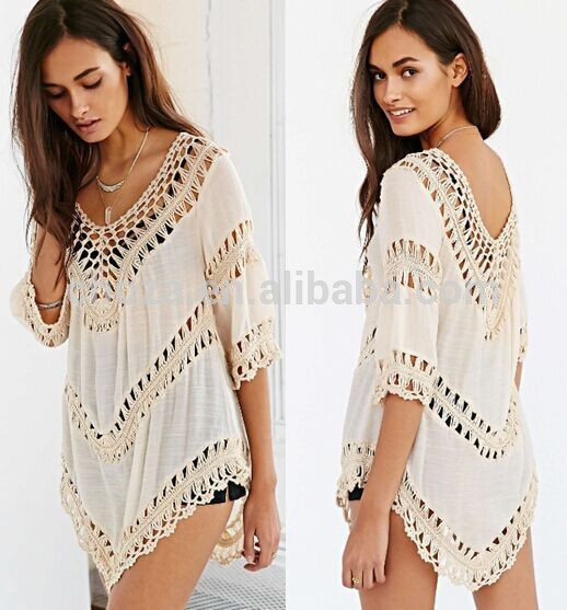 Seller factory walson Bestdress C21292B V Neck Fashion Women Beach Wear Clothing